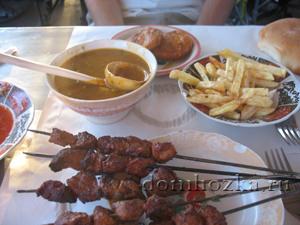 ужин в Марракеше