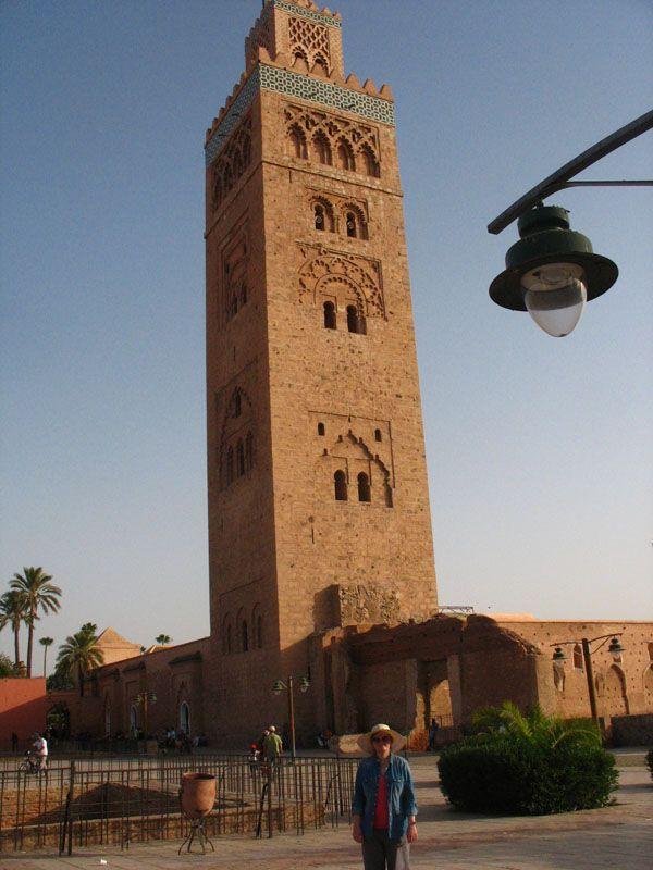 Мечеть Кутубия, самая большая в Марракеше