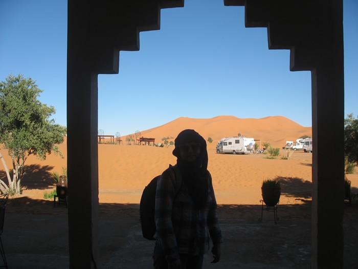 ворота в Сахару