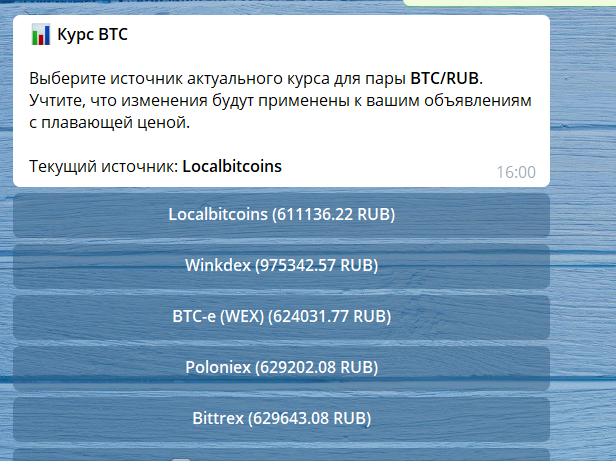 курс BTC