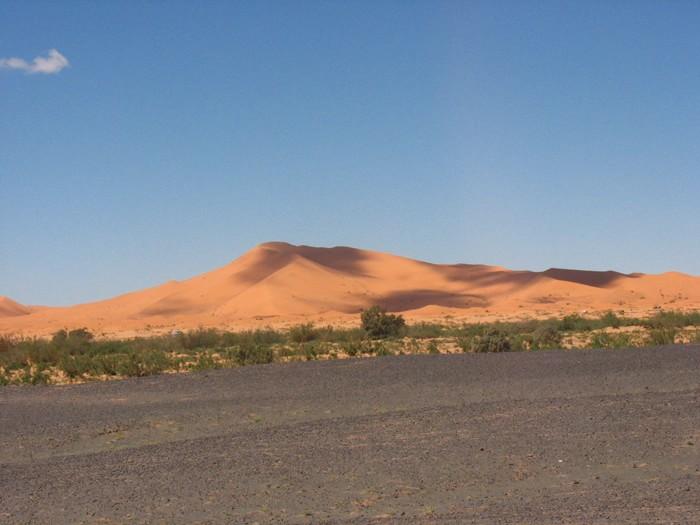 марокканские дюны