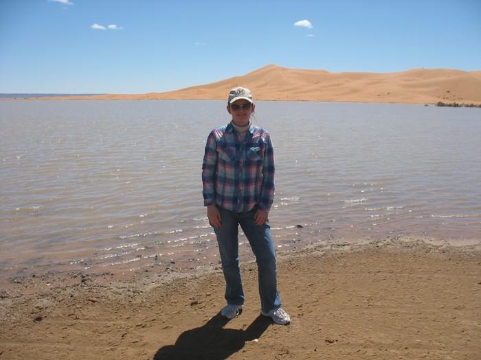 озеро и дюны