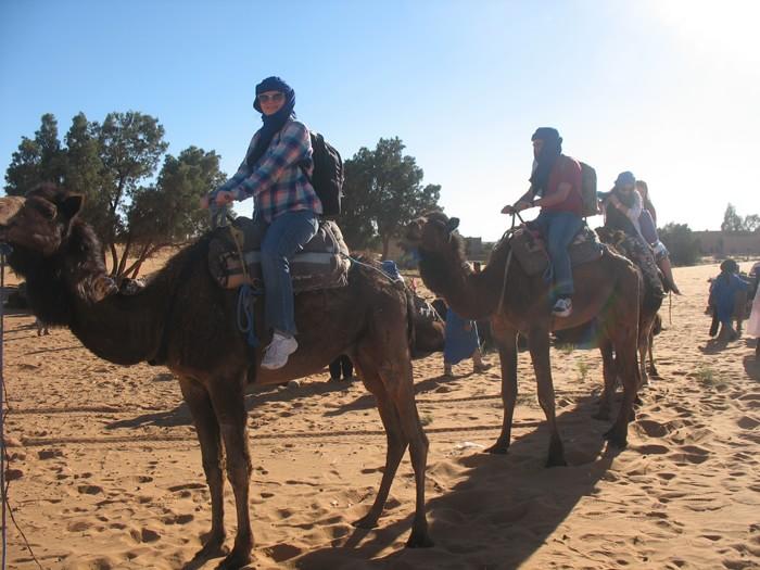 поездка на верблюде