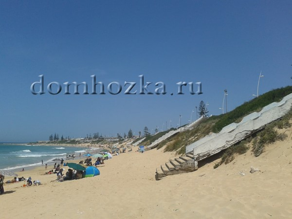 пляж в мае